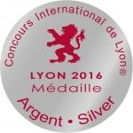 Medaille Argent LYON 2016