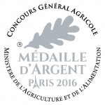 Medaille Argent PARIS 2016