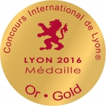 Medaille Or LYON 2016